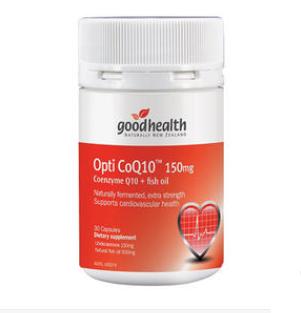 【新西兰PD】Good Health 好健康 150mg辅酶Q10胶囊 30粒(保护心脏)
