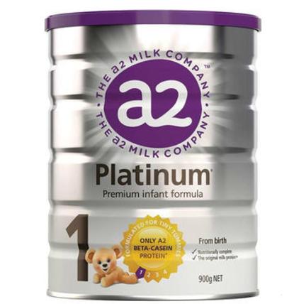 【澳洲PO药房】A2 白金系列婴幼儿配方奶粉 (1段) 0-6个月 900g