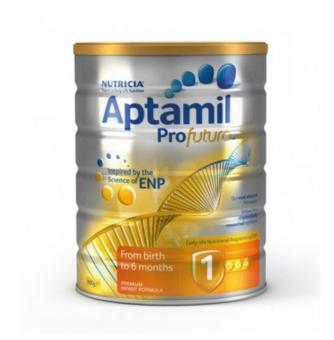 【澳洲CD药房】Aptamil 澳洲爱他美白金婴幼儿奶粉(1段) 900g