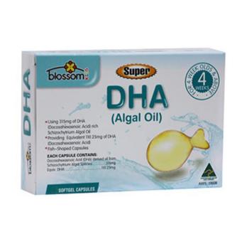 【澳洲CD药房】Blossom Health 儿童DHA(藻油)胶囊 90粒