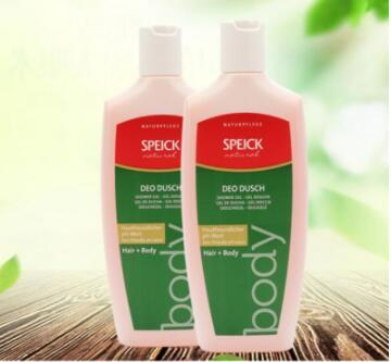 【荷兰DOD】Speick 施贝德有机鼠尾草二合一温和沐浴露洗发水 滋润保湿 250ml 2瓶装