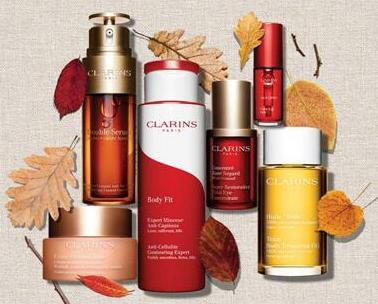 Clarins美国官网美妆护肤单品一件8.5折/两件8折/三件7.5折