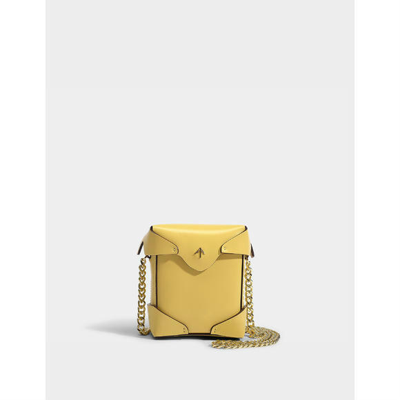 Manu Atelier Pristine micro bag with chain