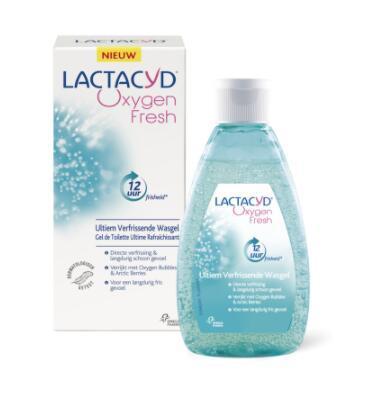 【荷兰DOD】Lactacyd令特适 女性私处清洁肤护理液/凝胶 全日清爽洁净 200ml