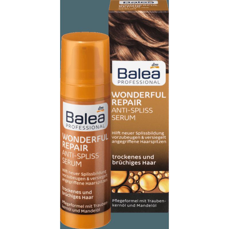 Balea 芭乐雅完美修复 免洗护发精华油 30ml 对抗分叉 毛躁、断裂