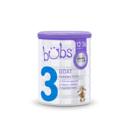 【澳洲PO药房】Bubs 贝儿 婴幼儿羊奶粉3段 800g