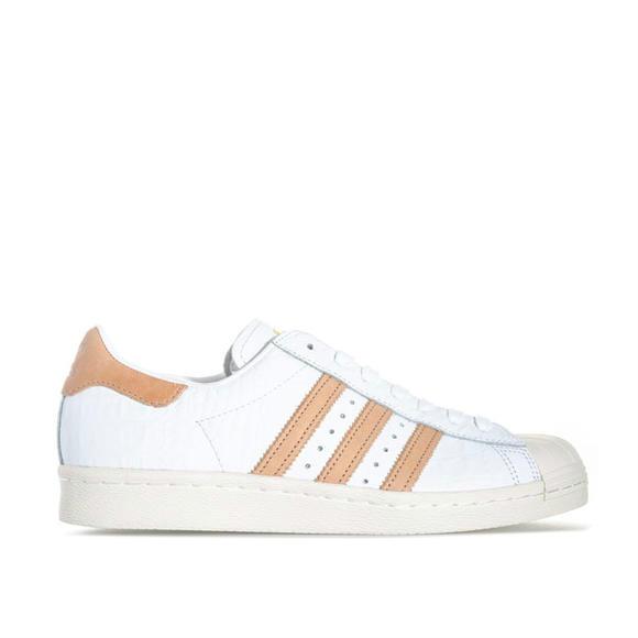 ADIDAS Superstar 80S系列 女款贝壳头运动鞋+Lacoste 男士Deston真皮拼接休闲鞋