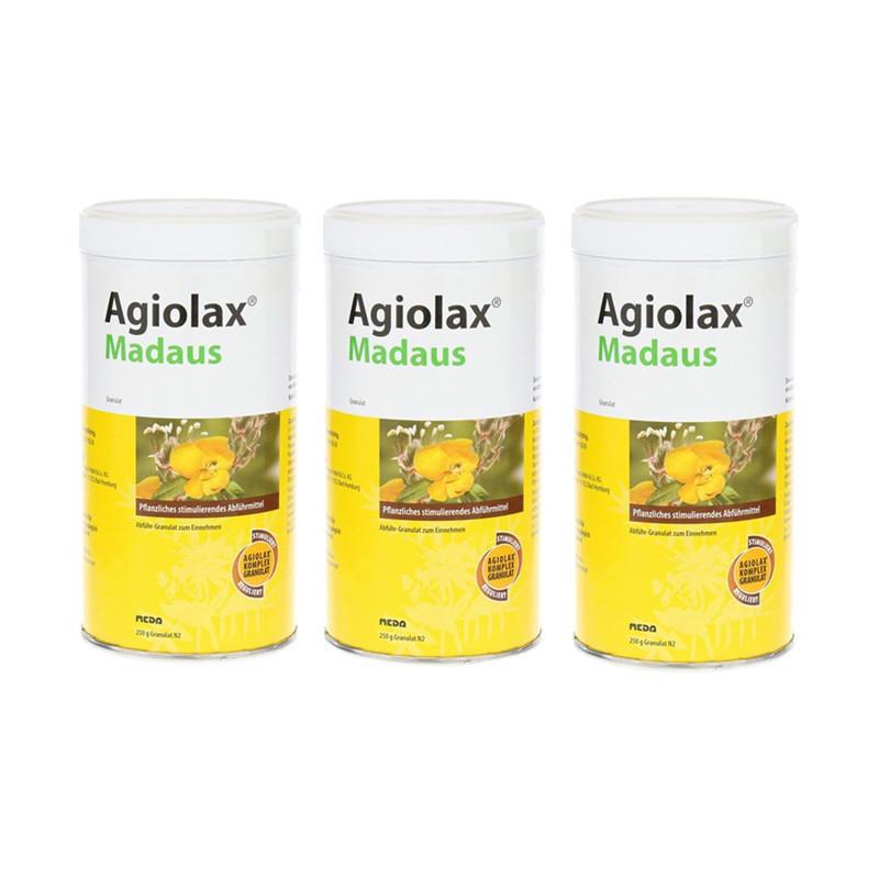 【德国BA】Agiolax 艾者思 排毒养颜颗粒剂 250g 3罐装