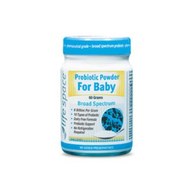 【澳洲Amcal】Life Space 婴儿益生菌粉 调节肠胃/增强免疫力 60g (6-36个月婴儿适用)