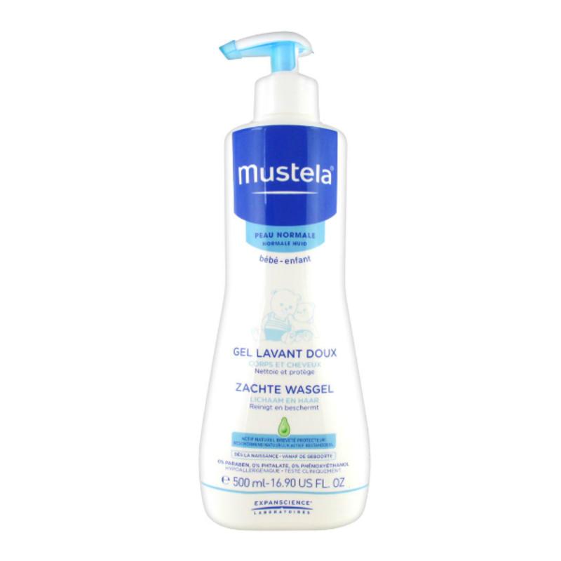 【德国BA】Mustela 妙思乐 婴儿二合一洗发沐浴露 500 ml