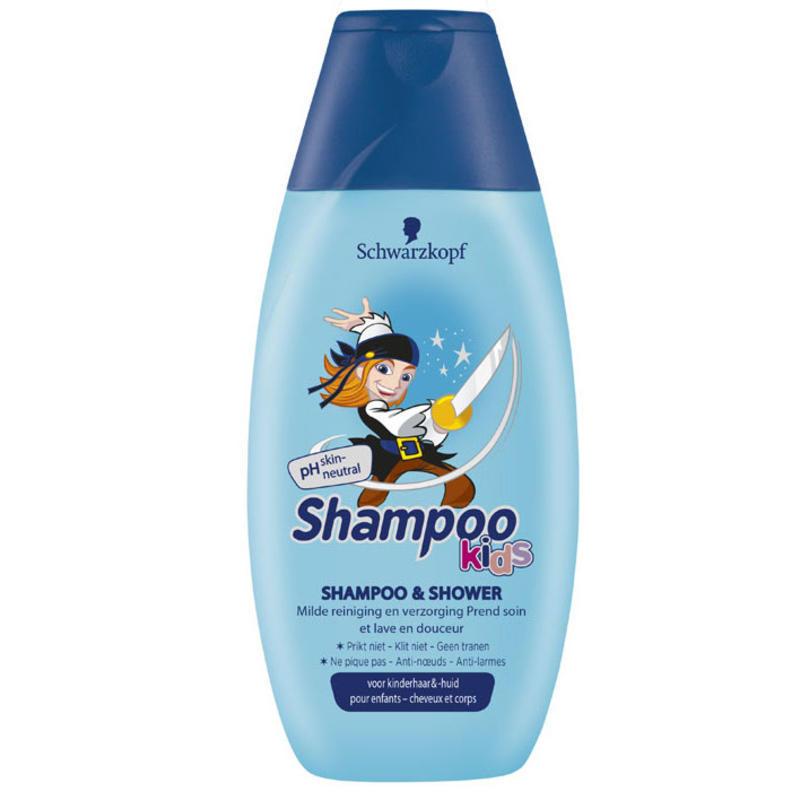 【荷兰DOD】Schwarzkopf 施华蔻 男童二合一洗发沐浴露 250ml