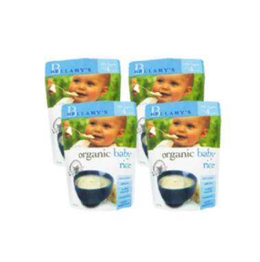 【澳洲Amcal】Bellamy&#039s 贝拉米 婴幼儿有机米粉(4个月以上)125g4