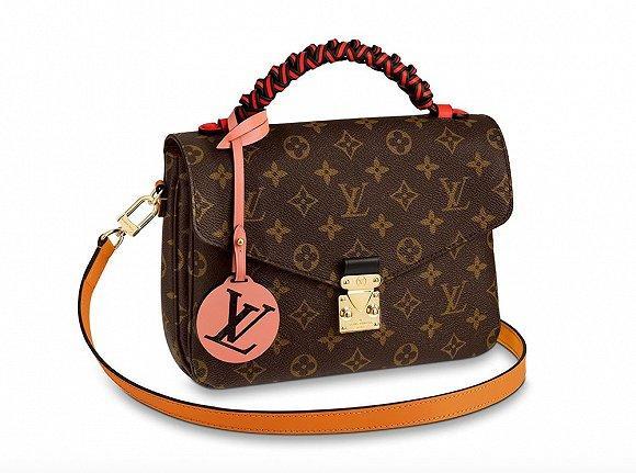 Louis Vuitton为经典包袋们配上了彩色编织手柄