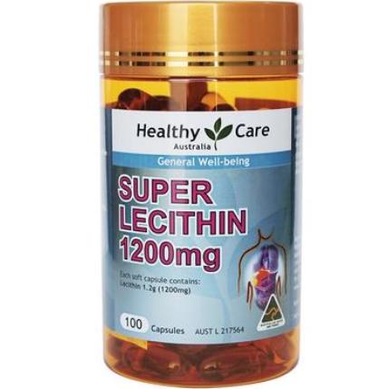 【澳洲PO药房】Healthy Care 大豆卵磷脂100粒