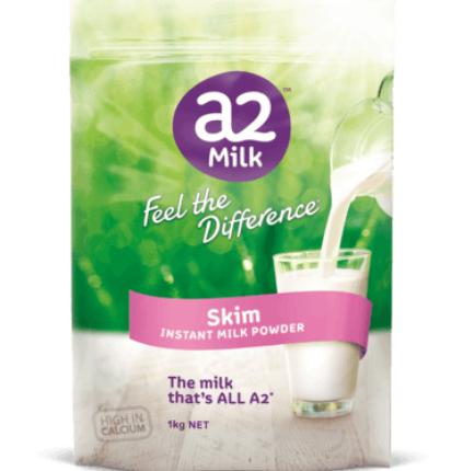 【澳洲PO药房】A2 高钙奶粉脱脂 学生/成人/中老年人 1kg