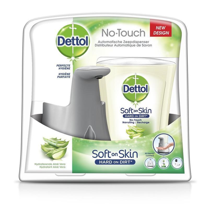 【荷兰DOD】Dettol 滴露 自动感应洁手器+抗菌洗手液(芦荟味)250ml