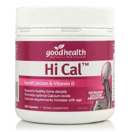 【澳洲PO药房】Good Health 好健康 液体钙+维生素D软胶囊 150粒