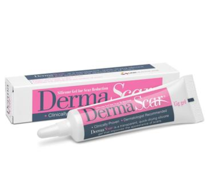 【澳洲PO药房】DermaScar 修复疤痕凝胶 15g (帮助瘢痕疙瘩和增生性疤痕的修复)
