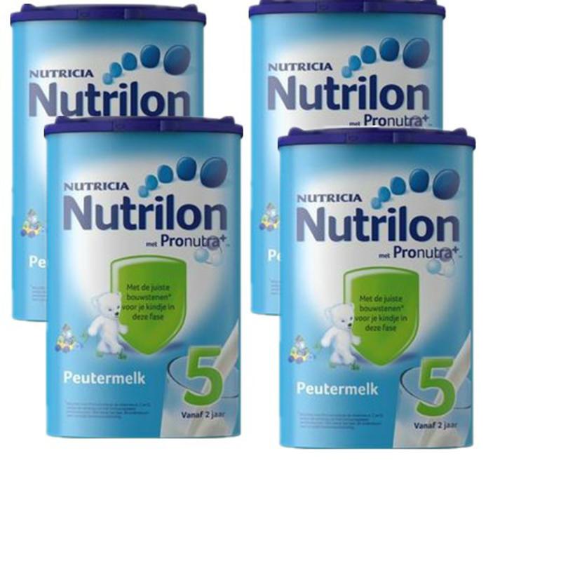 【荷兰DOD】Nutrilon 牛栏/诺优能 婴幼儿5段成长配方奶粉 4罐装 4x800g