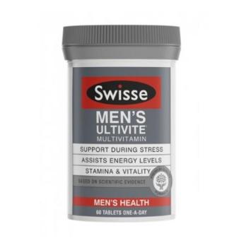 【澳洲CD药房】Swisse 男士复合维生素片 60片
