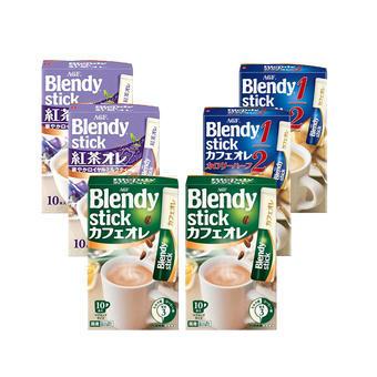 【免郵】AGF皇家紅茶拿鐵10p2+微糖低熱量牛奶咖啡10p2+三合一原味歐蕾牛奶咖啡 10p