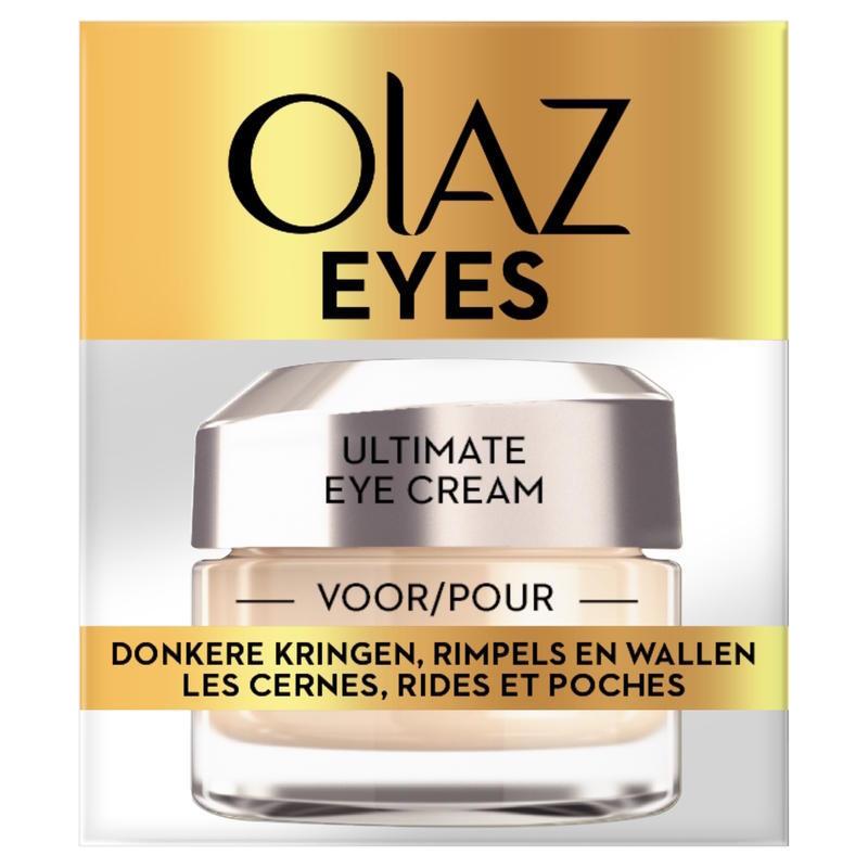 【荷兰DOD】Olaz 玉兰油 多效修护眼霜 淡化黑眼圈去眼袋细纹紧致保湿抗衰老 15ml