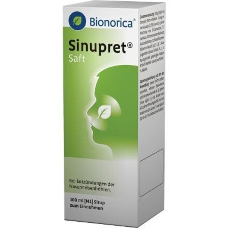 德国 Bionorica 仙露贝植物鼻窦炎糖浆 2m+ 100ml低至85折