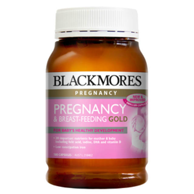 【限量到貨】Blackmores 澳佳寶 孕期及哺乳黃金營養素膠囊 180粒