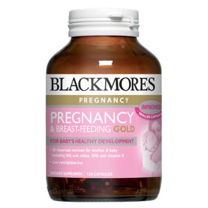 【孕媽常備】Blackmores 澳佳寶 孕期哺乳營養素膠囊 120粒