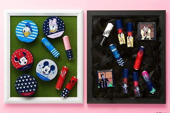 韩国Etude House为迪士尼反派角色推出彩妆系列