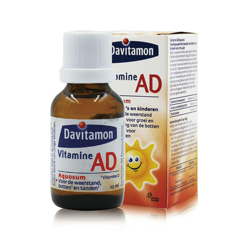 【包邮装】Davitamon宝宝维生素D3 VD滴剂(水剂)仅需€10.96