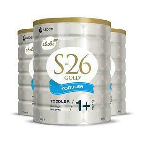 S-26 惠氏金装3段(1岁以上)婴幼儿奶粉 900g 6罐包邮装