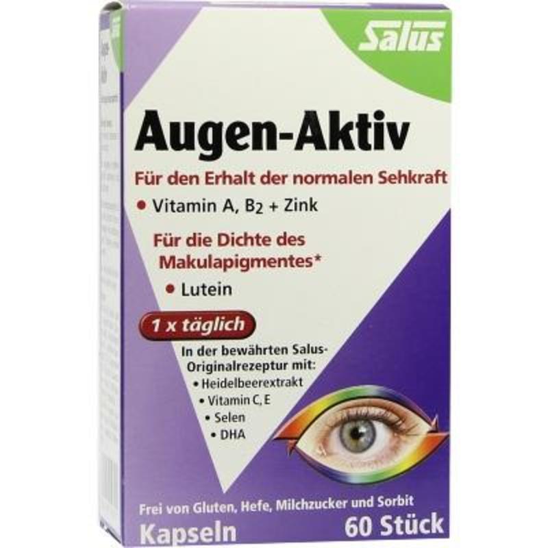 Salus 蓝莓护眼胶囊 60粒 保护视力 12岁+低至8折