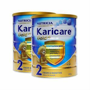 Karicare 可瑞康 金装2段婴儿配方奶粉 900g 6罐装包邮装