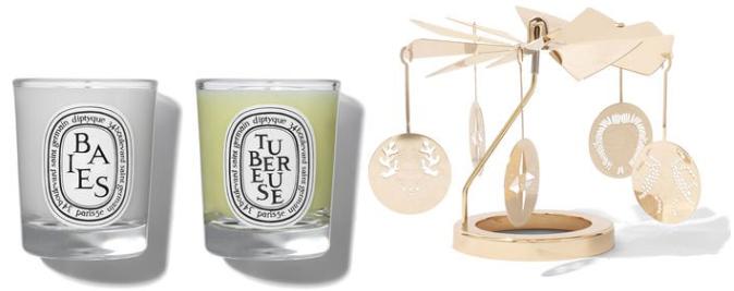 Diptyque Carousel 圣诞限量旋转烛台香氛蜡烛套装