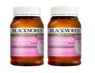 超值2件装 Blackmores 澳佳宝 孕期及哺乳营养黄金素胶囊 180粒