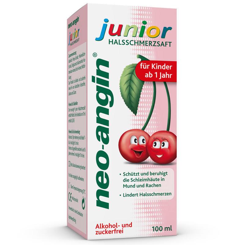 neo-angin 植物配方儿童润喉口服液 1岁+ 100ml 果味仅需€6.87