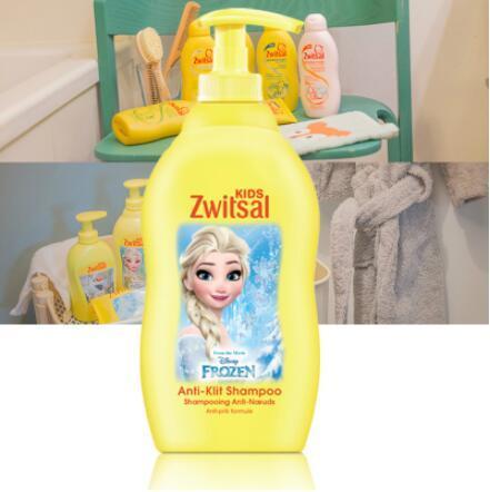 【荷兰DOD】Zwitsal瑞莎 女孩专用柔顺洗发水 400ml 无泪配方