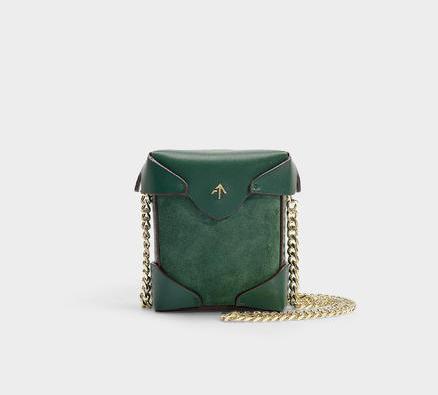 Manu Atelier Pristine micro链条女士手袋