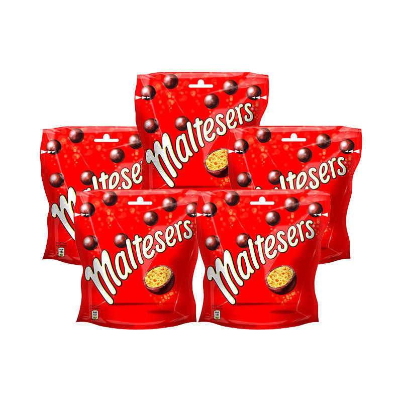 【5袋装】Maltesers 麦丽素 麦芽脆心牛奶夹心糖果巧克力豆 175g5袋低至85折