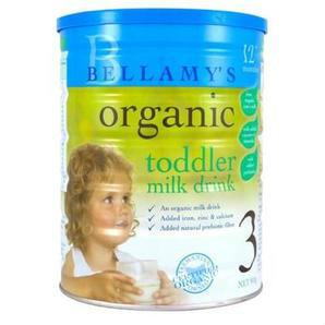 【限量到货】Bellamy&#039s 贝拉米婴幼儿有机奶粉3段 900g 6罐包邮装