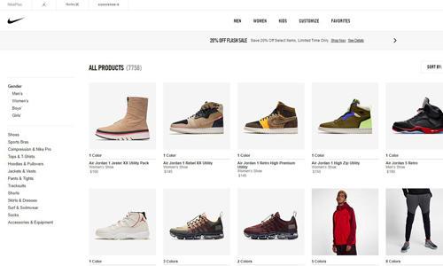 黑五男生一定不能放过这几家美国大牌运动鞋网站