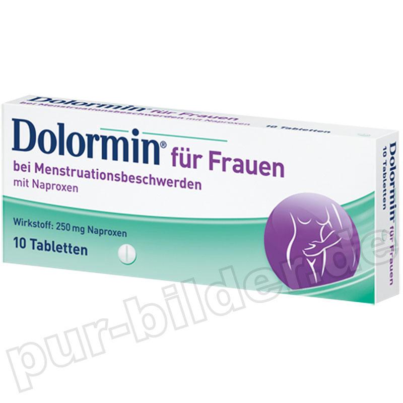 Dolormin für Frauen 萘普生消炎止痛药 10片 用于月经期间的不适和疼痛仅需€5.66