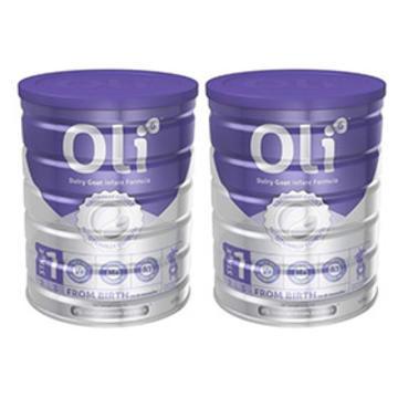 【包邮组合装】Oli6 婴幼儿配方羊奶粉1段 800g X2