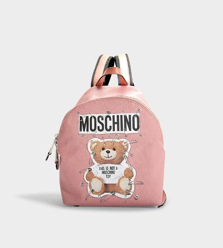 Moschino Teddy Safety Pin 小号 背包