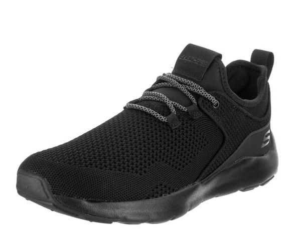 Skechers 斯凯奇男士 Nichlas-Lishear 黑色休闲鞋8人US