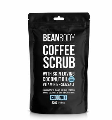 【两件包邮包税装】BEAN BODY 咖啡磨砂膏 椰子款 220G2