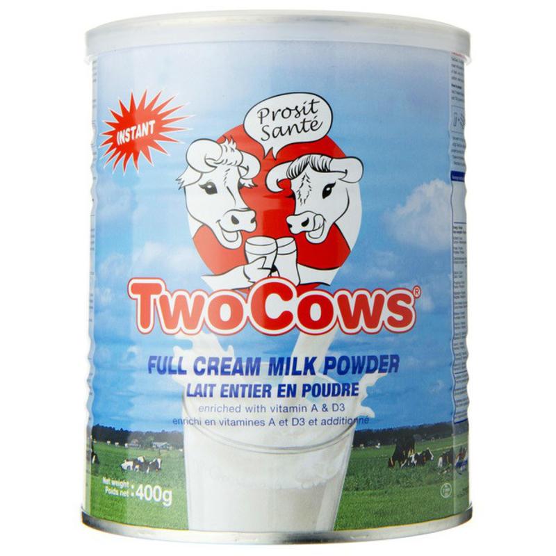 【荷兰DOD】Two Cows 淘高斯 全脂高钙奶粉 罐装(3岁及以上成人适用)400g