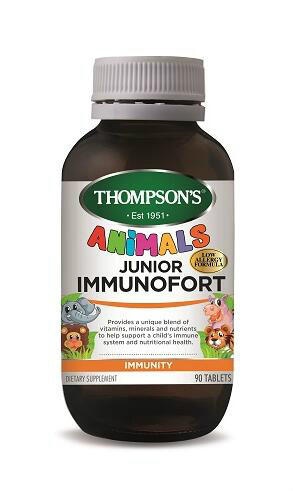 Thompson&#039s 汤普森 儿童综合维生素免疫 90片