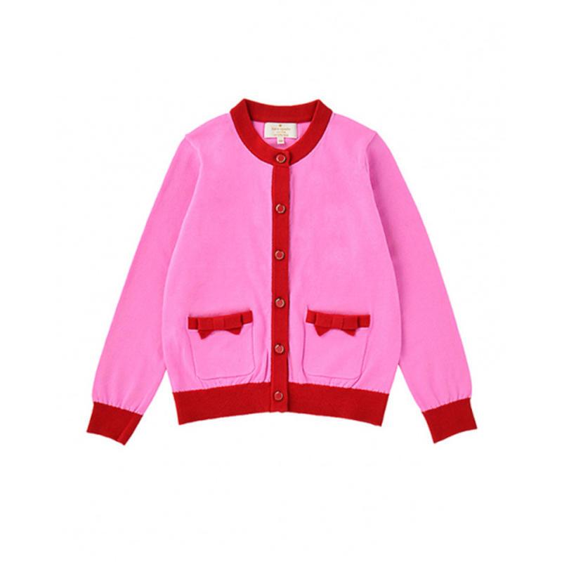 GLADD日本闪购限时品牌折扣kate spade深粉色毛衣